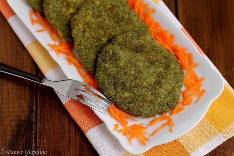 Spinacine o Cotolette di spinaci e pollo