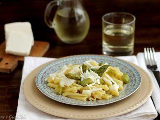Caserecce con asparagi e baccalà