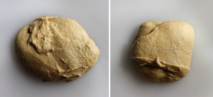 Pizza cresciuta romana di pasqua