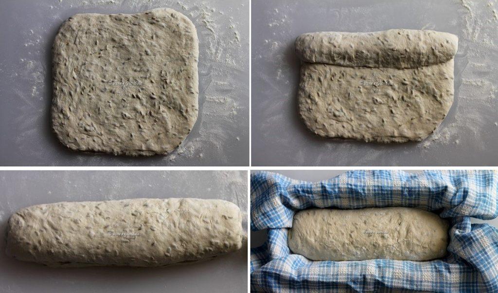 forma Pane bianco con semi di finocchio