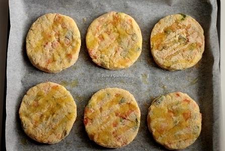 Cotolette vegetariane con zucchine e carote
