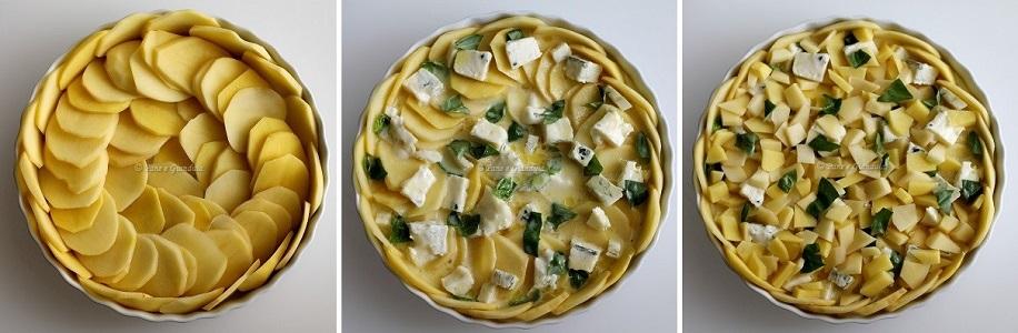 Ricetta Pasticcio di patate e gorgonzola