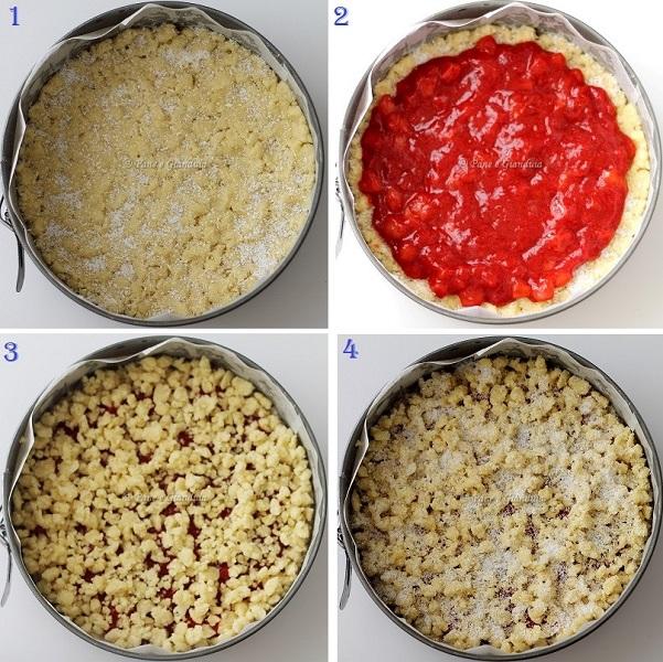 Ricetta Torta crumble alle fragole