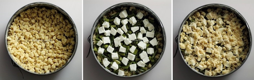 Ricetta sbrisolona salata
