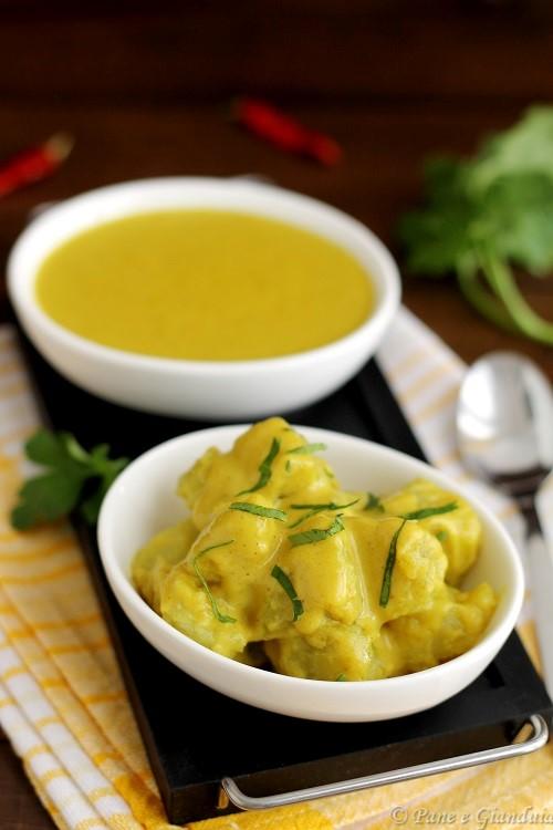 Salsa speziata al curry e cocco