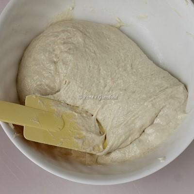 pieghe in ciotola Ciabattine di grano tenero