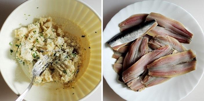 ricette Involtini di sarde e melanzane con pompelmo