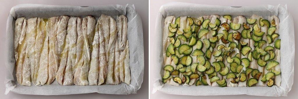 Filetti di gallinella al forno