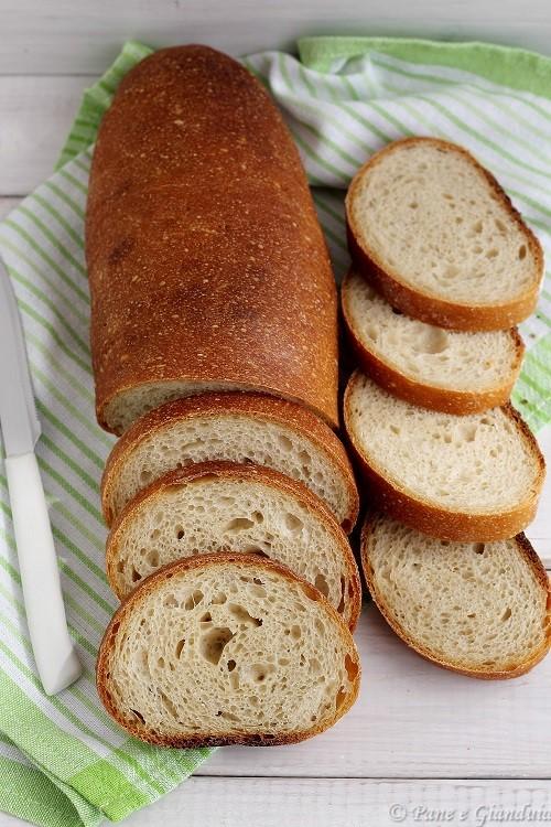 Pane di soia e grano tenero