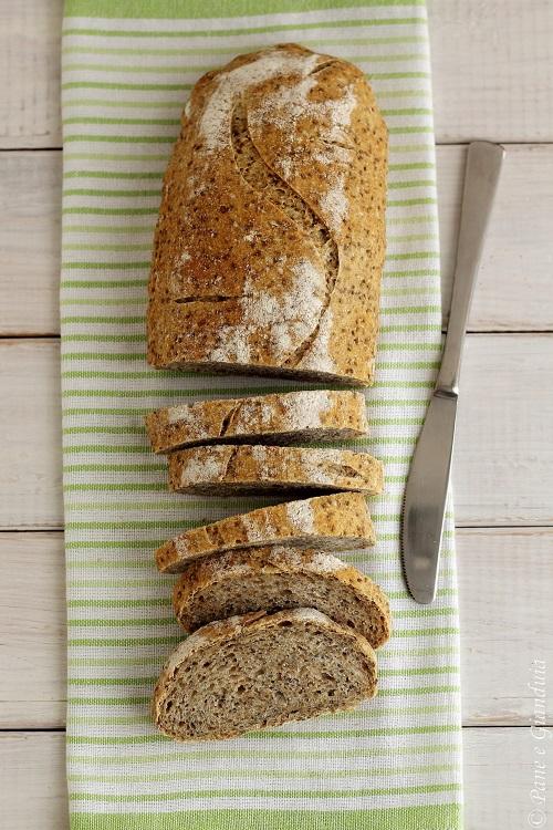 Pane integrale e semi di chia