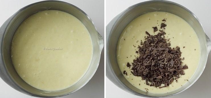 Ricetta plumcake banana cioccolato e mascarpone