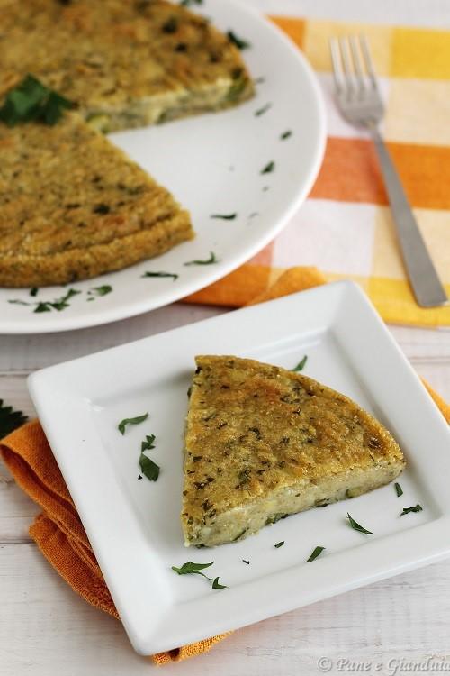 Torta salata con amaranto patate e zucchine