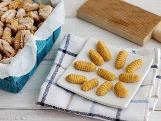 Gnocchi di carote con farina integrale