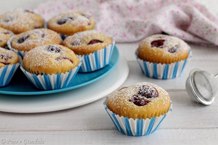 Muffin alla ciliegia