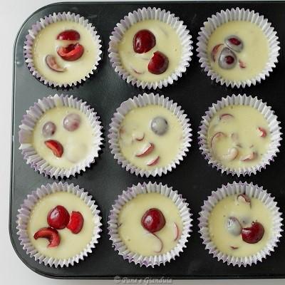 Ricetta Muffin ciliegie