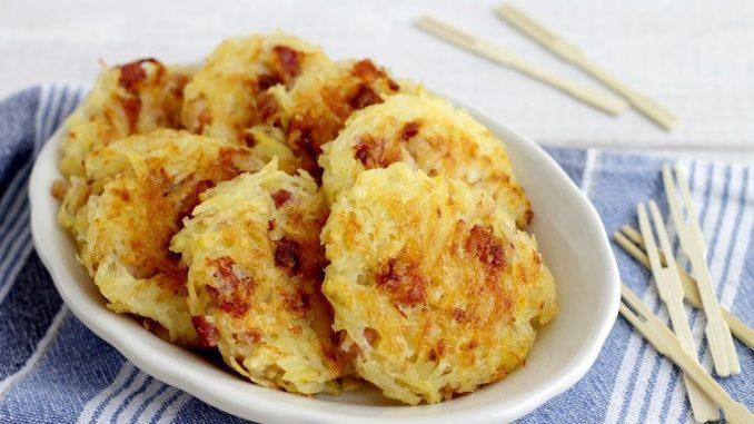 Rosti di patate con pancetta affumicata