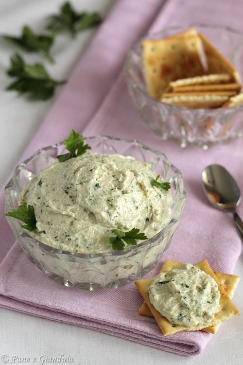 Crema salata di ricotta