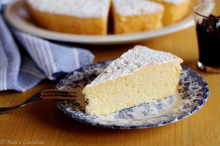 Torta Paradiso dolce lombardo