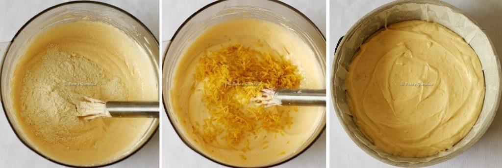 ricetta Torta al limone con granella di pistacchi