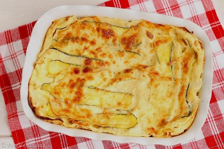 Lasagne con zucchine e provola affumicata