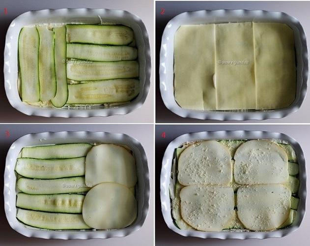 Ricetta Lasagne con zucchine e provola affumicata