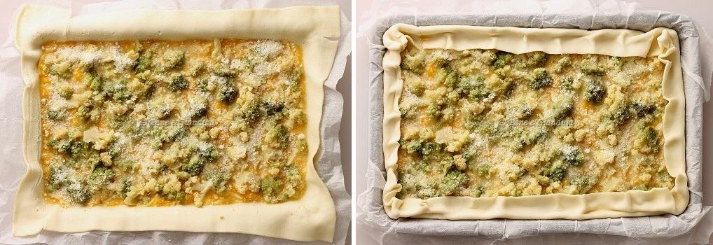 Ricetta Torta salata di zucca e broccoli