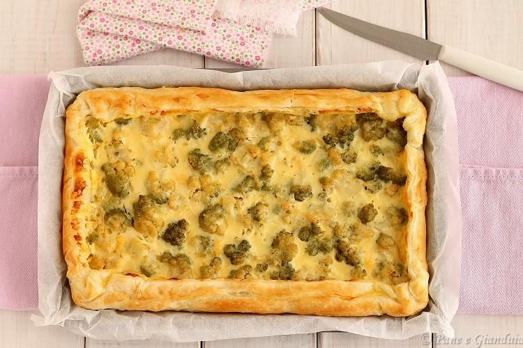 Torta salata di zucca e broccoli