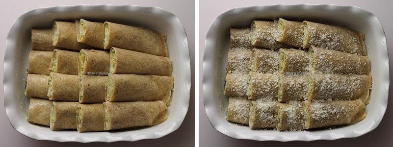 ricetta Crespelle di grano saraceno con cavoletti di bruxelles