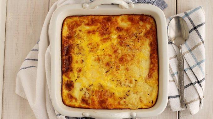 Gratin di polenta alla gressanese