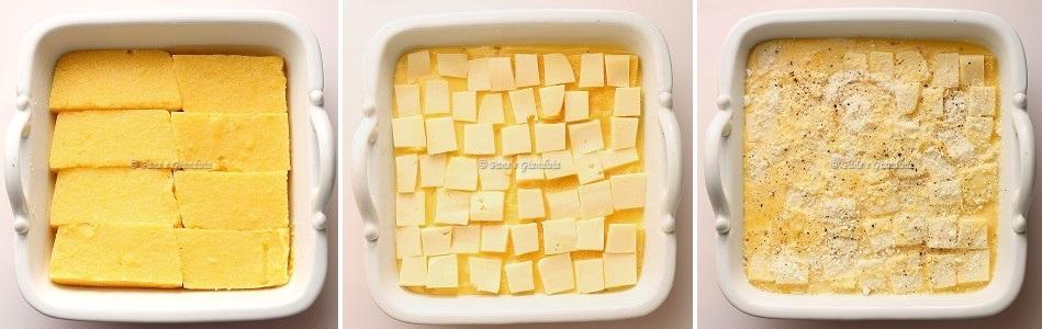 Gratin di polenta gressanese
