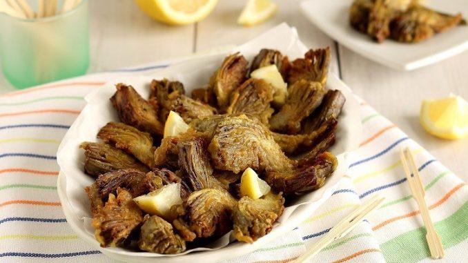 Carciofi fritti alla romana