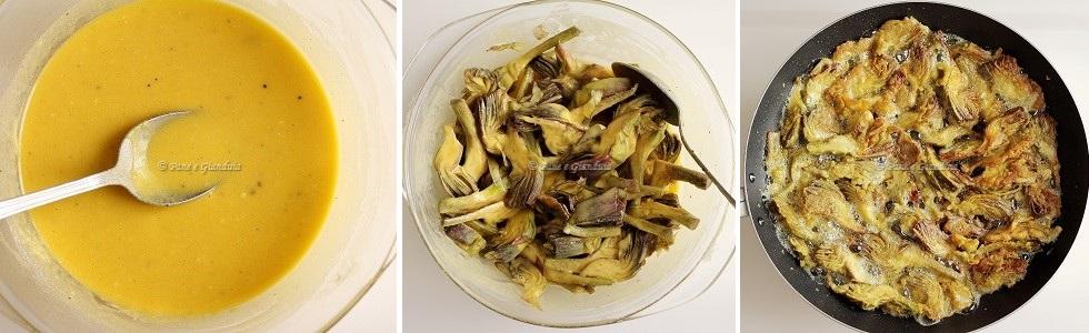 Ricetta Carciofi fritti alla romana