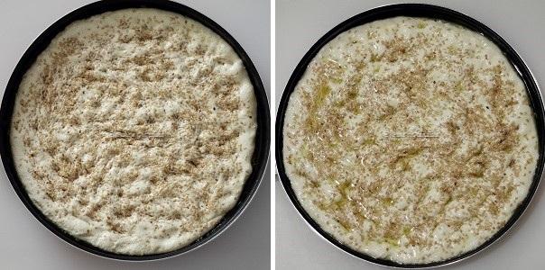 Ricetta Focaccia allo yogurt con semi di sesamo