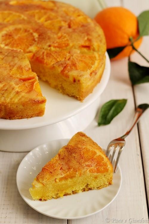 Torta di semola rimacinta alle arance