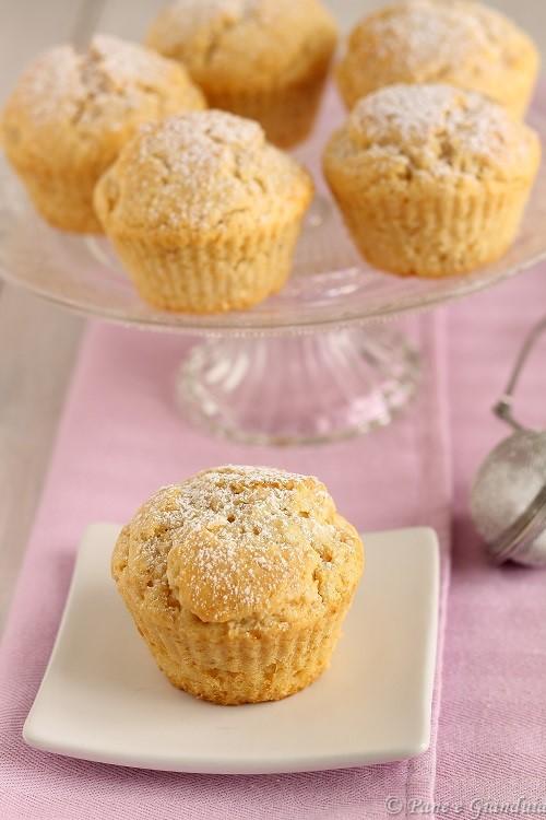 Muffin al mascarpone e burro di arachidi