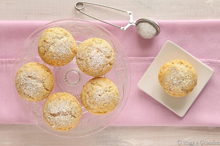 Muffin mascarpone e burro di arachidi