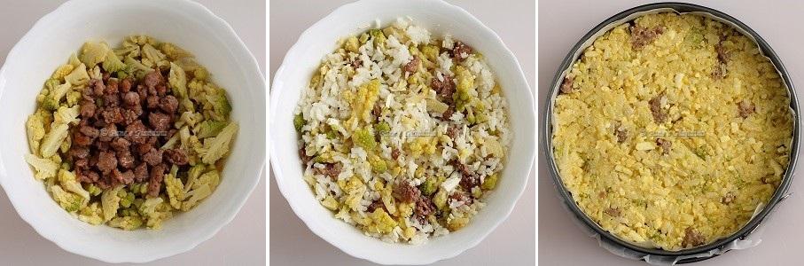 Ricetta timballo di broccolo e riso