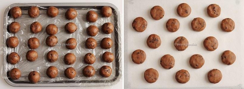 Ricetta biscotti fondente