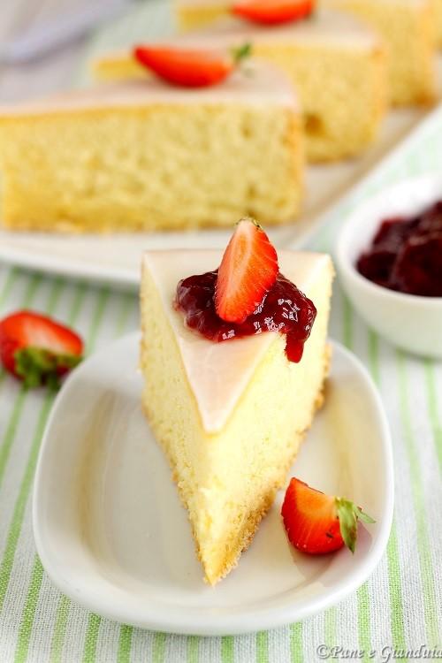 Torta soffice piemontese