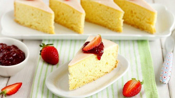 Torta torinese glassata