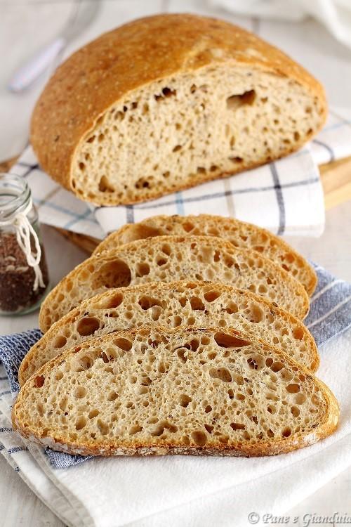Pane con farina 1 e ai cereali
