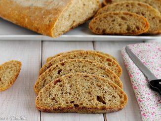 Pane con farine miste di grano tenero