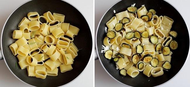 Ricetta pasta con zucchine
