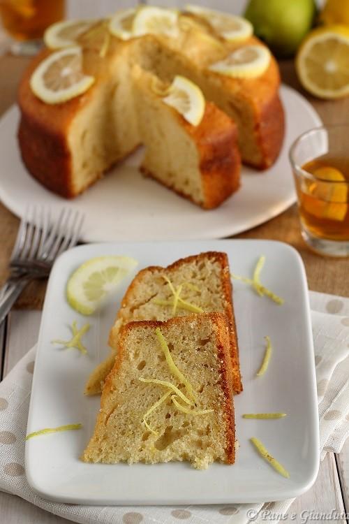 Torta alta al limone