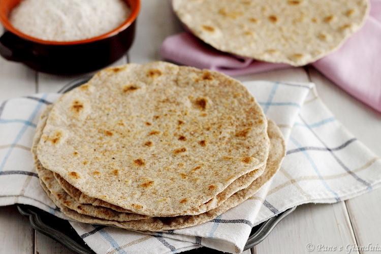 Chapati indiano pane senza lievito