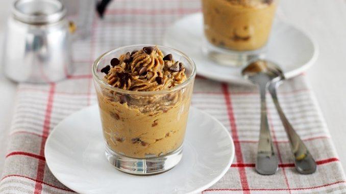 Crema di ricotta al caffè e cioccolato