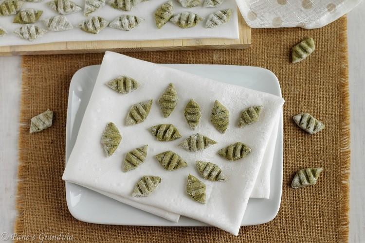 Gnocchi di zucchine e farina di segale