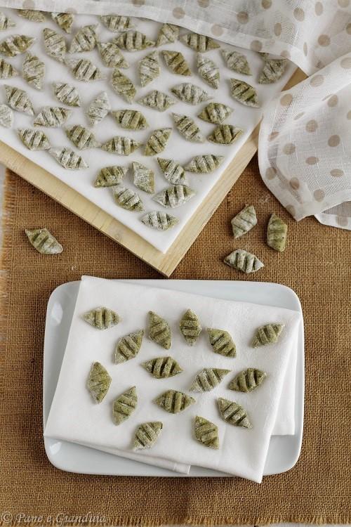 Gnocchi di zucchine e segale
