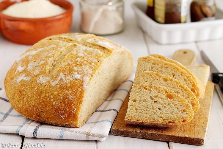 Pane bianco ai ceci