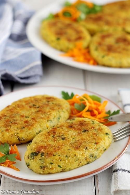 Cotolette vegetariane di uova sode